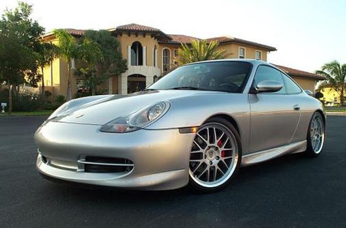 PORSCHE 911 996 SIDE SKIRTS GT3 LOOK